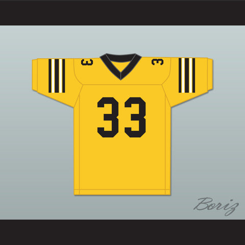 Stefen Djordjevic 33 Ampipe High School Bulldogs Football Jersey All The Right Moves - borizcustom - 1