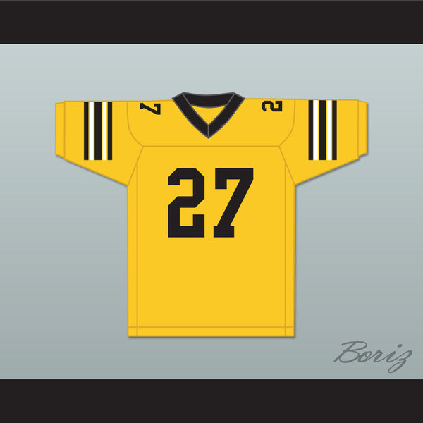 Vinnie Salvucci 27 Ampipe High School Bulldogs Football Jersey All The Right Moves - borizcustom - 1
