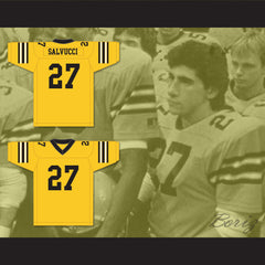 Vinnie Salvucci 27 Ampipe High School Bulldogs Football Jersey All The Right Moves - borizcustom - 3