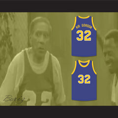 Air Gordon 32 Blue Basketball Jersey Martin - borizcustom
