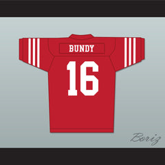 Al Bundy 16 Red Football Jersey Married With Children Ed O' Neill - borizcustom