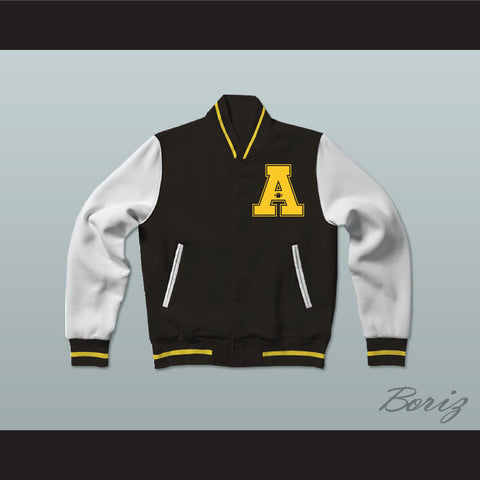 All The Right Moves Ampipe Bulldogs High School Football Varsity Letterman Jacket-Style Sweatshirt - borizcustom - 1