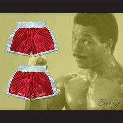 Apollo Creed Red Boxing Shorts All Sizes - borizcustom