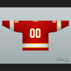 Atlanta Flames 1972-73 Hockey Jersey Any Player or Number Stitch Sewn - borizcustom