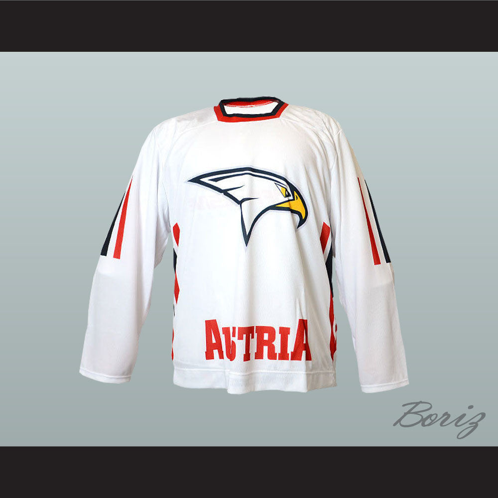 release date 4b505 fe731 Austria National Team Hockey Jersey New Any Player or Number