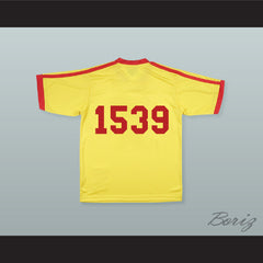 Alan Tudyk Steve 'The Pirate' Cowan 1539 Average Joe's Dodgeball Jersey - borizcustom - 2