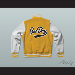 Bad Boy Entertainment Varsity Letterman Jacket-Style Sweatshirt - borizcustom - 2
