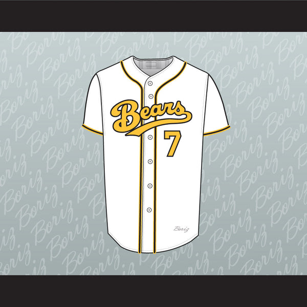 Sammi Kane Kraft Amanda Whurlitzer 7 Bad News Bears Baseball Jersey Any Player or Number Stitch Sewn - borizcustom