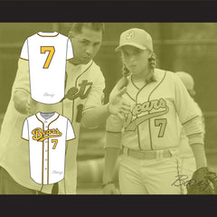 Sammi Kane Kraft Amanda Whurlitzer 7 Bad News Bears Baseball Jersey Any Player or Number Stitch Sewn - borizcustom - 3