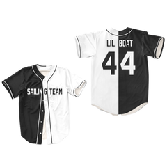 Lil Yachty Lil Boat 44 Sailing Team White Baseball Jersey