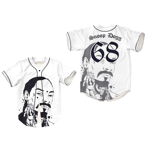 8fc3c4f53 Snoop Dogg Dye Subl Baseball Jersey Shirt