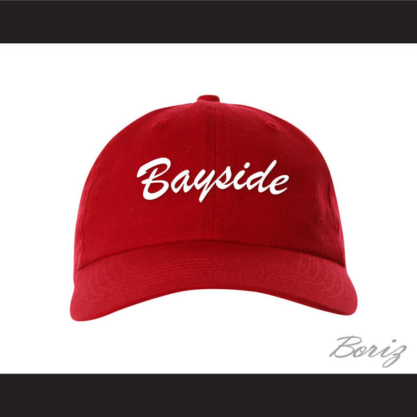 Bayside Tigers Red Baseball Hat Saved By The Bell - borizcustom