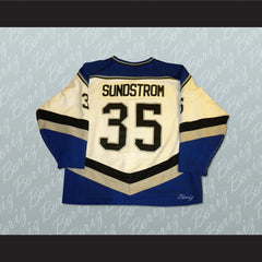 B.C. Icemen Oile Sundstrom 35 Hockey Jersey Stitch Sewn NEW Any Size or Player - borizcustom
