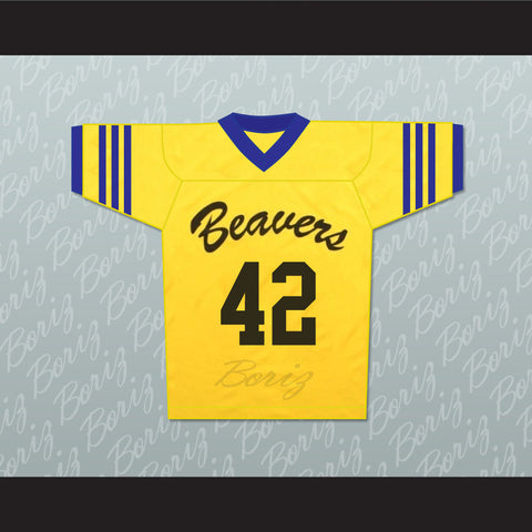 Scott Howard 42 Beacon Hills Beavers Lacrosse Jersey Throwback Teen Wolf - borizcustom - 1