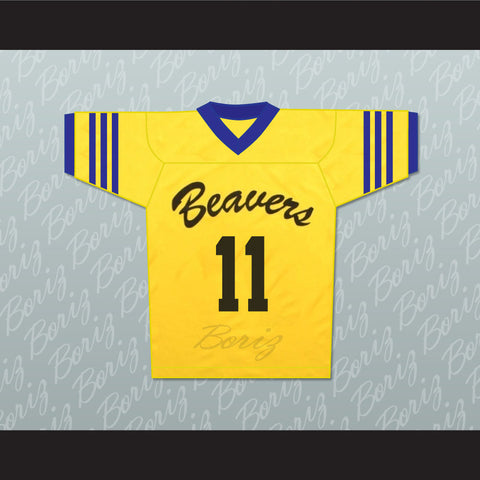 Scott McCall 11 Beacon Hills Beavers Lacrosse Jersey Throwback Teen Wolf - borizcustom
