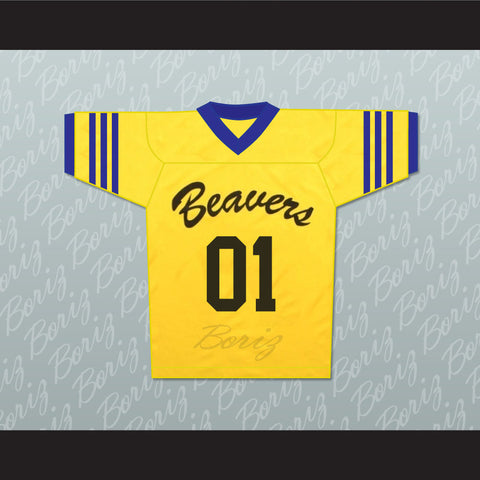 Peter Hale 01 Beacon Hills Beavers Lacrosse Jersey Throwback Teen Wolf - borizcustom - 1