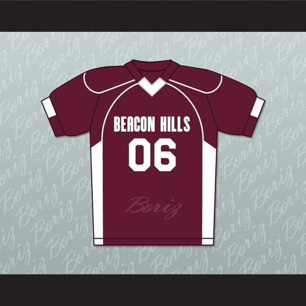 Danny Mahealani 06 Beacon Hills Cyclones Lacrosse Jersey Teen Wolf TV Series New - borizcustom
