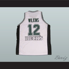 Dominique Wilkins Beck's Basketball Jersey European All Sizes New - borizcustom