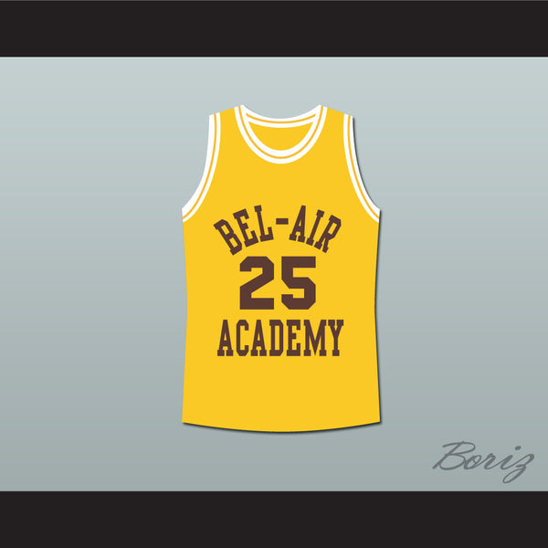 The Fresh Prince of Bel-Air Alfonso Ribeiro Carlton Banks Bel-Air Academy Basketball Jersey - borizcustom
