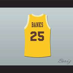 The Fresh Prince of Bel-Air Alfonso Ribeiro Carlton Banks Bel-Air Academy Basketball Jersey - borizcustom - 2