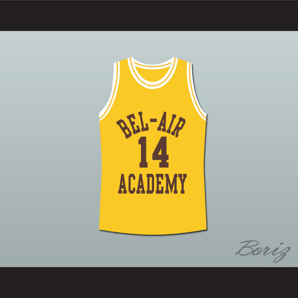 The Fresh Prince of Bel-Air Will Smith Bel-Air Academy Basketball Jersey - borizcustom