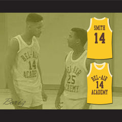 The Fresh Prince of Bel-Air Will Smith Bel-Air Academy Basketball Jersey - borizcustom - 3