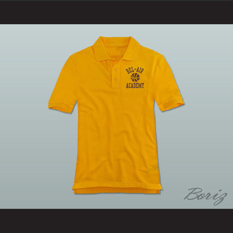 Bel-Air Academy Basketball Polo Shirt - borizcustom