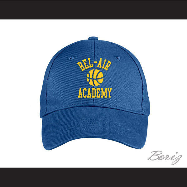Bel-Air Academy Basketball Blue Baseball Hat The Fresh Prince of Bel-Air - borizcustom
