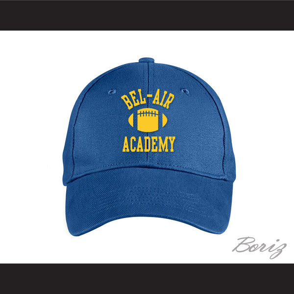 Bel-Air Academy Football Blue Baseball Hat The Fresh Prince of Bel-Air - borizcustom