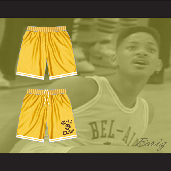 ... Fresh Prince Bel-Air Academy Basketball Shorts All Sizes - borizcustom f2f22a27e414