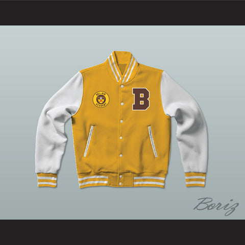 Bel-Air Academy Basketball Varsity Letterman Jacket-Style Sweatshirt The Fresh Prince of Bel-Air - borizcustom - 1