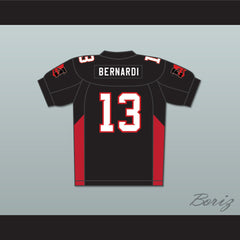 13 Bernardi Mean Machine Convicts Football Jersey Includes Patches - borizcustom