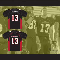 13 Bernardi Mean Machine Convicts Football Jersey - borizcustom