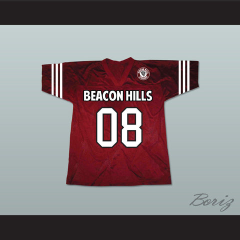 Matt Daehler 08 Beacon Hills Cyclones Lacrosse Jersey Teen Wolf Includes Patch - borizcustom