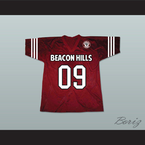 Liam Dunbar 09 Beacon Hills Cyclones Lacrosse Jersey Teen Wolf Includes Patch - borizcustom