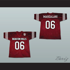 Danny Mahealani 06 Beacon Hills Cyclones Lacrosse Jersey Teen Wolf Includes Patch - borizcustom