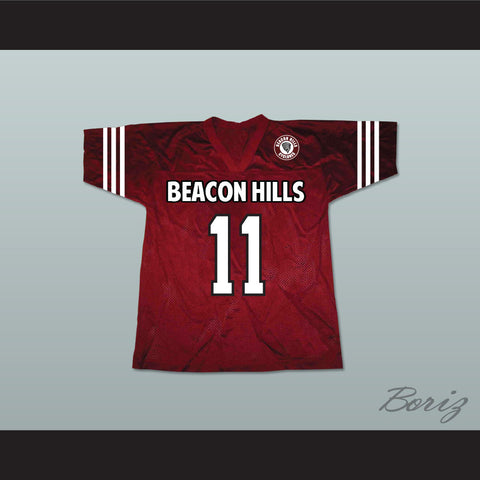 Scott McCall 11 Beacon Hills Cyclones Lacrosse Jersey Teen Wolf Includes Patch - borizcustom