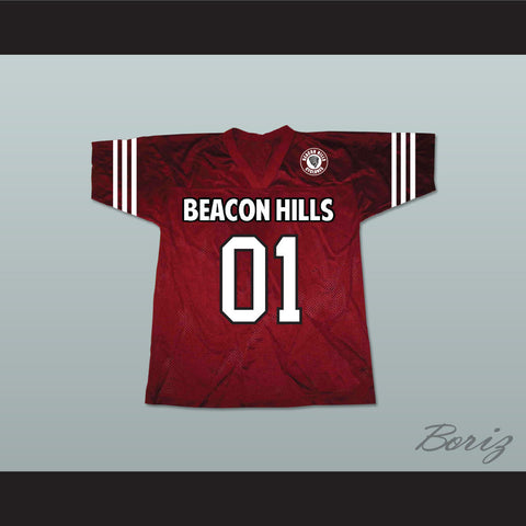 Peter Hale 01 Beacon Hills Cyclones Lacrosse Jersey Teen Wolf Includes Patch - borizcustom
