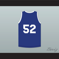 Token White Guy 52 Tournament Shoot Out Bombers Basketball Jersey Above The Rim - borizcustom - 2