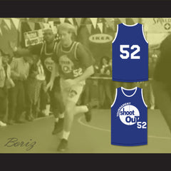 Token White Guy 52 Tournament Shoot Out Bombers Basketball Jersey Above The Rim - borizcustom - 3