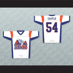 Thad Castle 54 Blue Mountain State Football Jersey Stitch Sewn Any Player - borizcustom - 3