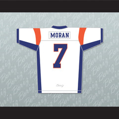 Alex Moran 7 Blue Mountain State Football Jersey Stitch Sewn Any Player - borizcustom
