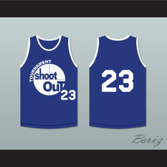 23 Tournament Shoot Out Bombers Basketball Jersey Above The Rim - borizcustom