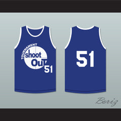 51 Tournament Shoot Out Bombers Basketball Jersey Above The Rim - borizcustom