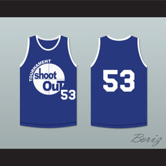 53 Tournament Shoot Out Bombers Basketball Jersey Above The Rim - borizcustom