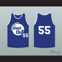 55 Tournament Shoot Out Bombers Basketball Jersey Above The Rim - borizcustom