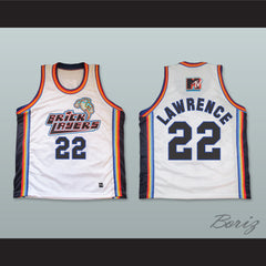 Andy Lawrence 22 Bricklayers Basketball Jersey Sixth Annual Rock N' Jock B-Ball Jam 1996 - borizcustom