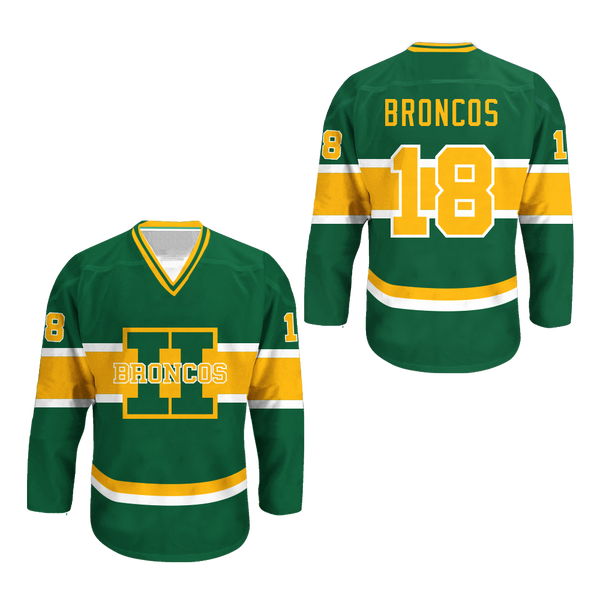 Humboldt Broncos 18 White Alternate Hockey Jersey 766a608e4