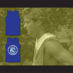 White Men Can't Jump Brotherhood Tournament Basketball Jersey Blue - borizcustom - 3