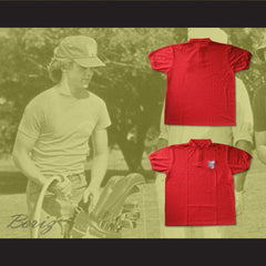 Danny Noonan Bushwood Country Club Polo Shirt Golf Caddy Uniform - borizcustom